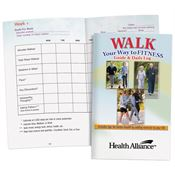 Walk Your Way To Fitness Guide & Daily Log - Personalization Available