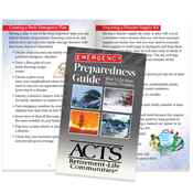 Emergency Preparedness Guide: What To Do When Disaster Threatens - Personalization Available