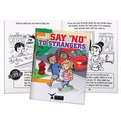 "Be Smart: Say ""No"" To Strangers Educational Activities Book - Personalization Available"
