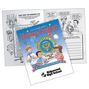 Let's Learn About Electing The President Activities Book - Personalization Available
