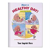Have A Healthy Day! With Billy Beagle Educational Activities Book - Personalization Available