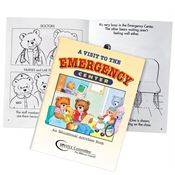 A Visit To The Emergency Center Educational Activities Book (Teddy Bear Edition) English - Personalization Available