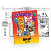 Celebrate Red Ribbon Week Educational Activities Book - Personalization Available