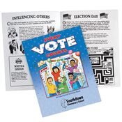 Every Vote Counts Educational Activities Book - Personalization Available
