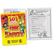101 Ways To Practice Fire Safety Educational Activities Book - Personalization Available