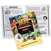 101 African-American Achievements That Shaped America Educational Activities Book - Personalized
