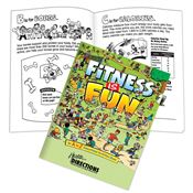 Fitness is Fun: An A to Z Educational Activities Book - Personalization Available