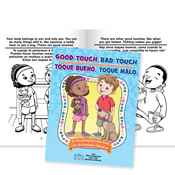 Good Touch, Bad Touch Educational Activities Book (Bilingual) - Personalization Available