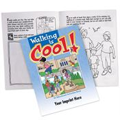 Walking Is Cool Activities Book - Personalization Available