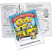 School Bus Safety Is Cool Educational Activities Book - Personalization Available