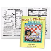 Kids In The Kitchen Cookbook: Healthy Recipes That Are Fun To Make Educational Activities Book - Personalized