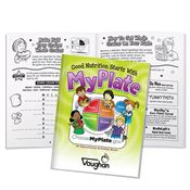 Good Nutrition Starts With MyPlate Educational Activities Book - Personalization Available