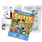 Police Officers Teach Us About Safety Educational Activities Book - Personalization Available