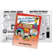 Life Is All About Making Choices Educational Activities Book - Personalization Available