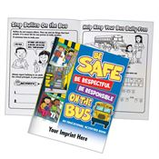 Be Safe, Be Respectful, Be Responsible On The Bus Educational Activities Book - Personalization Available