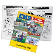 EMS To The Rescue Educational Activities Book - Personalization Available