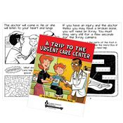 A Trip To The Urgent Care Center Educational Activities Book - Personalization Available