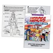 Heroes Don't Always Wear Capes Educational Activities Book - Personalization Available