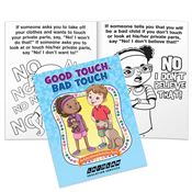Good Touch, Bad Touch Educational Activities Book - Personalization Available