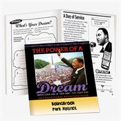 Martin Luther King Jr. Commemorative The Power Of A Dream Educational Activities Book - Personalization Available