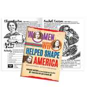 Women Who Helped Shape America Educational Activities Book - Personalization Available