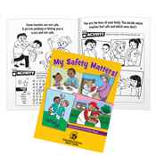 My Safety Matters! Educational Activities Book - Personalization Available