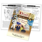 10 Days In Black History That Changed Our Nation Educational Activities Book