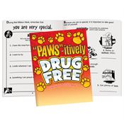 PAWS-itively Drug Free Educational Activities Book