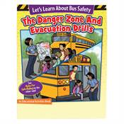 Let's Learn About Bus Safety Rules/Let's Learn About Evacuation Drills And Danger Zones Activities Book