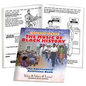 Freedom Songs: The Music Of Black History Educational Activities Book