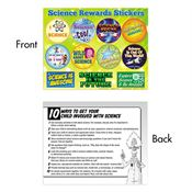 Science Rewards Sticker Sheet