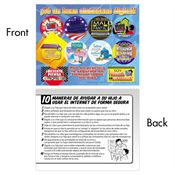 Internet Safety Be A Good Digital Citizen Sticker Sheet (Spanish)