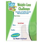 Weight-Loss Challenge Laminated Poster