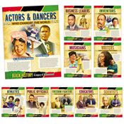 Black History: A Legacy Of Achievement 10-Piece Laminated Poster Set