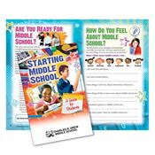Starting Middle School Guidebook For Students - Personalization Available