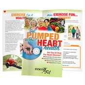 Get Pumped About Heart Health Handbook - Personalization Available