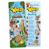 I'm Wild About Reading Bookmark
