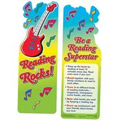 Reading Rocks! Die-Cut Bookmark