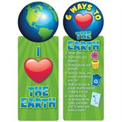 I (Heart) The Earth Bookmark