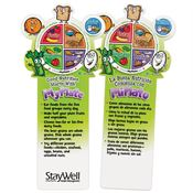Good Nutrition Starts With My Plate Die-Cut Bookmark - Personalization Available