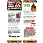 10 Facts About Vaping & E-Cigarettes Bookmark - Personalization Available