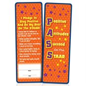 PASS: Positive Attitudes Succeed On The STAAR Bookmarks