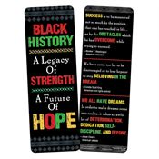 Black History: A Legacy Of Strength, A Future Of Hope Bookmark