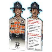 My Friend The Sheriff Die-Cut Bookmark - Personalization Available