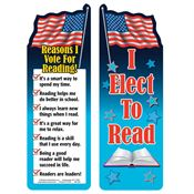 I Elect To Read! Bookmark