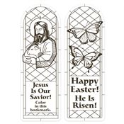 Jesus Is Our Savior! Color Me Easter Bookmark
