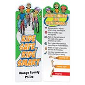 Ride Safe Ride Smart Die-Cut Bookmark - Personalization Available