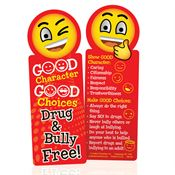 Good Character, Good Choices Drug & Bully Free! Bookmark