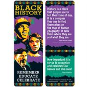 Black History: Remember, Educate, Celebrate Bookmark