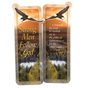 Strong Men Follow God Deluxe Die-Cut Bookmark